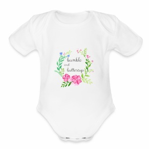 Bumble and Buttercup Little Ones - Short Sleeve Baby Bodysuit