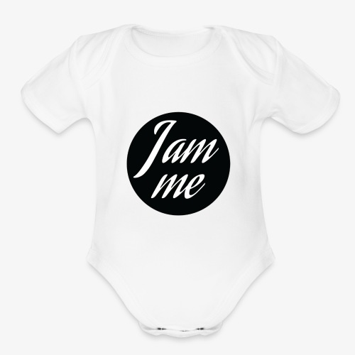 I am me - Organic Short Sleeve Baby Bodysuit