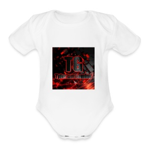 Basic - Short Sleeve Baby Bodysuit