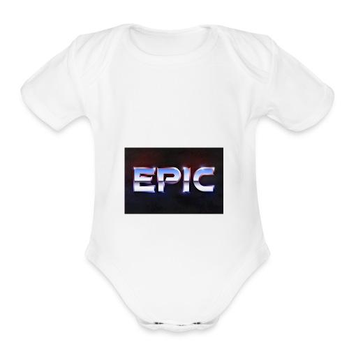 Epic - Organic Short Sleeve Baby Bodysuit