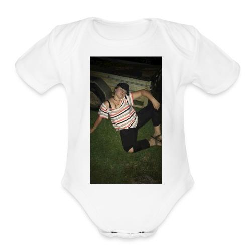 Basic Lilly - Organic Short Sleeve Baby Bodysuit