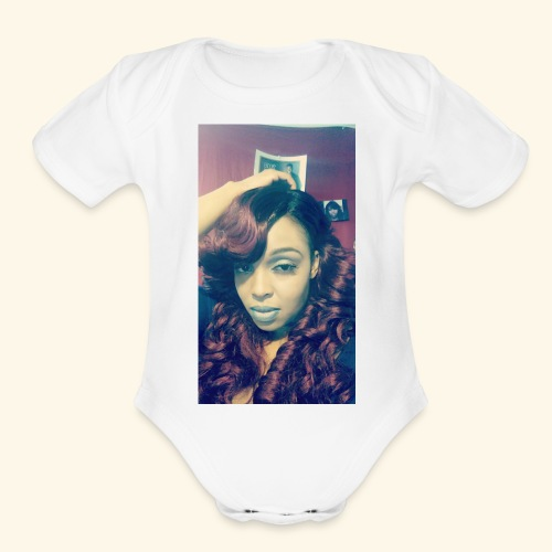 Lacrecia - Organic Short Sleeve Baby Bodysuit