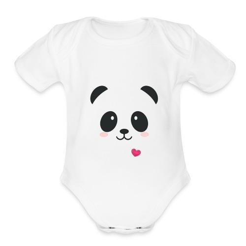 cool2 - Organic Short Sleeve Baby Bodysuit