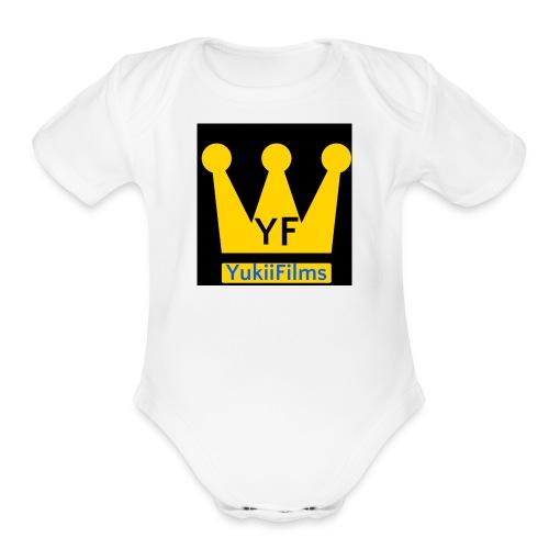 YukiiFilms T-Shirts - Organic Short Sleeve Baby Bodysuit