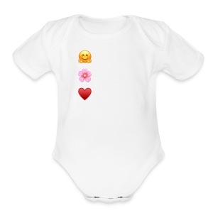 You Are Loved - Short Sleeve Baby Bodysuit