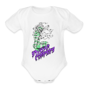 Mummy Girl - Short Sleeve Baby Bodysuit