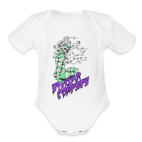 Mummy Girl - Organic Short Sleeve Baby Bodysuit