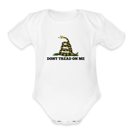 GADSDEN 1 COLOR - Organic Short Sleeve Baby Bodysuit