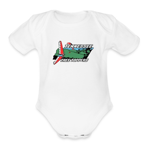 2018TTTLogo-Merch - Organic Short Sleeve Baby Bodysuit