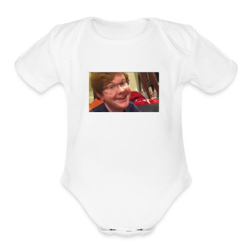 mmmmm - Organic Short Sleeve Baby Bodysuit