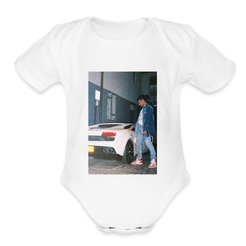 ASAP ROCKY - Organic Short Sleeve Baby Bodysuit
