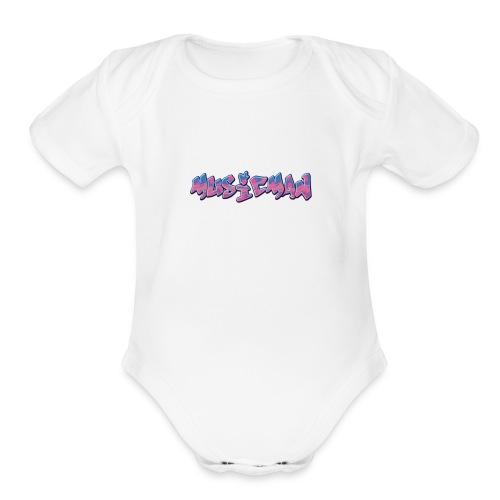 IMG 1174 - Organic Short Sleeve Baby Bodysuit