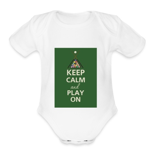 Gaming Merch - Organic Short Sleeve Baby Bodysuit