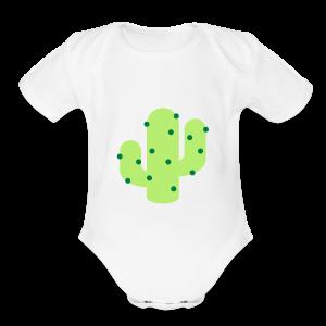 Cactus - Short Sleeve Baby Bodysuit