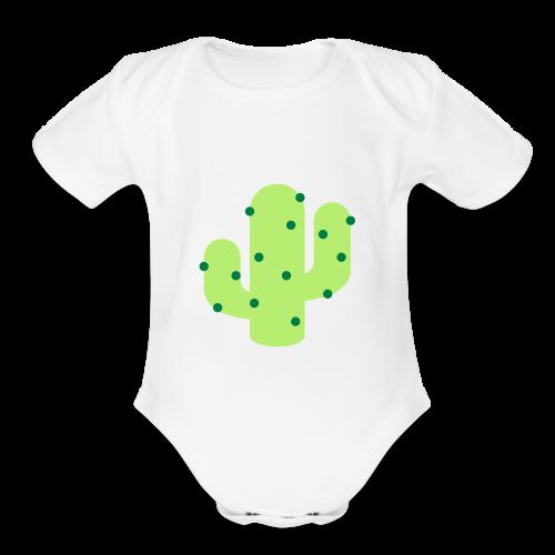 Cactus - Organic Short Sleeve Baby Bodysuit