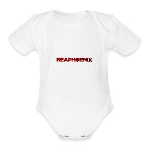 BEAPHOENIX - Short Sleeve Baby Bodysuit