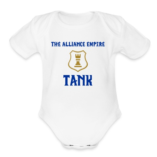 Empire Tank - Organic Short Sleeve Baby Bodysuit