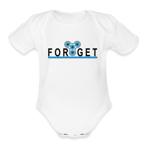 FORGET - Organic Short Sleeve Baby Bodysuit