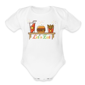 Hamburger T Shirts, Shirts & Tees - Short Sleeve Baby Bodysuit