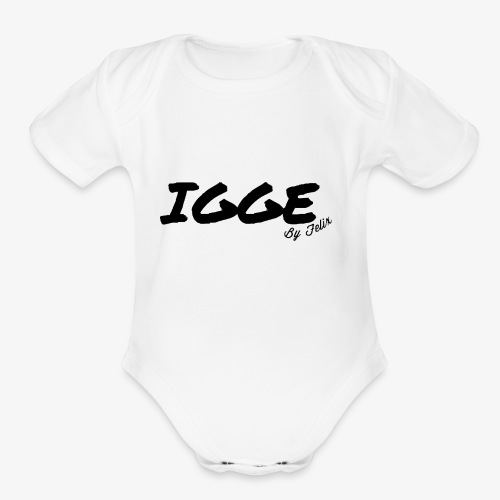 IGGE by Felix - Organic Short Sleeve Baby Bodysuit