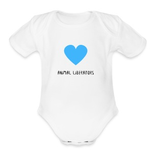 Animal Liberators - Short Sleeve Baby Bodysuit