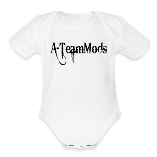 A-TeamMods - Organic Short Sleeve Baby Bodysuit