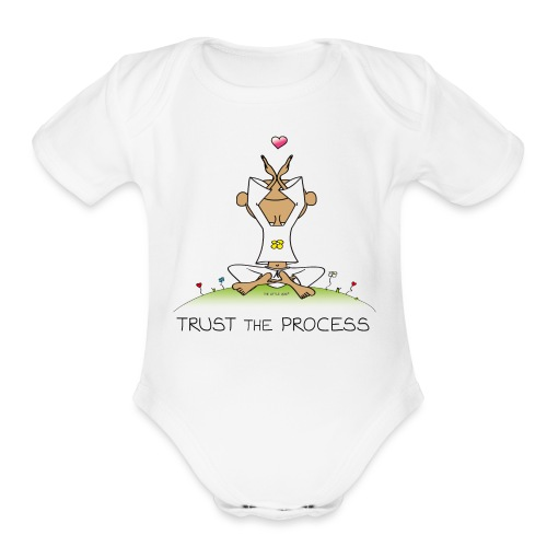Trust the Process - Organic Short Sleeve Baby Bodysuit