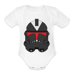 steath-trooper - Short Sleeve Baby Bodysuit
