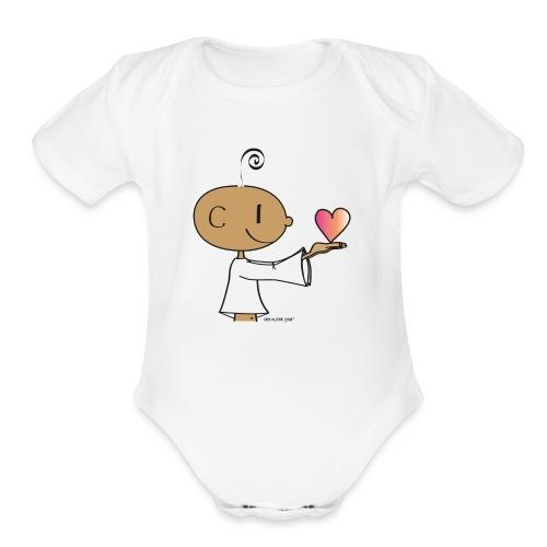 The little Yogi - Organic Short Sleeve Baby Bodysuit
