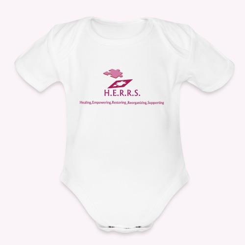 Signature H.E.R.R.S. - Organic Short Sleeve Baby Bodysuit