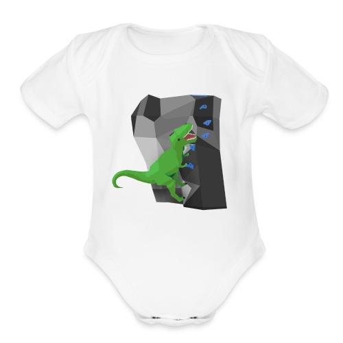 Do or Dyno - Organic Short Sleeve Baby Bodysuit