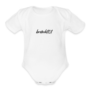 brotech101 apparel Season 1 - Short Sleeve Baby Bodysuit