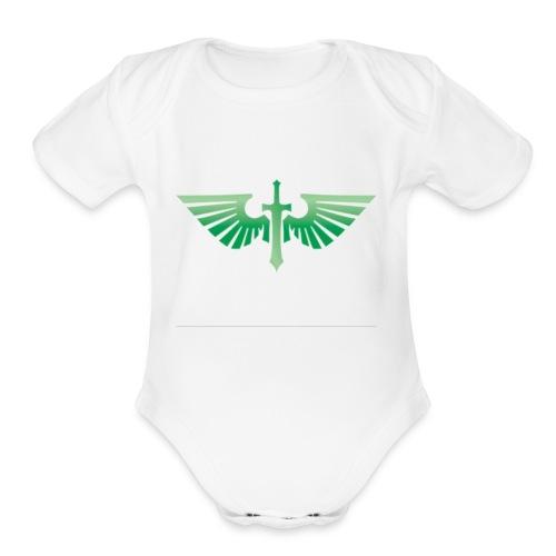 Dark Angels - Organic Short Sleeve Baby Bodysuit