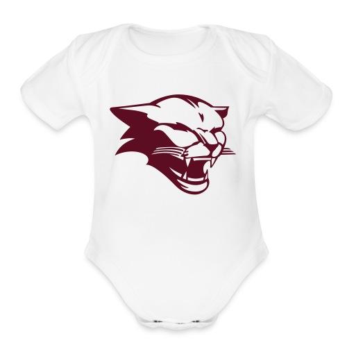 Cougar - Organic Short Sleeve Baby Bodysuit