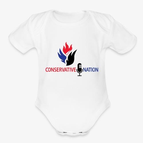Conservative Nation Double Eagle Collaboration - Organic Short Sleeve Baby Bodysuit