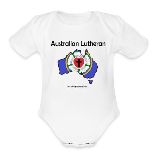 Australian Lutheran - Organic Short Sleeve Baby Bodysuit