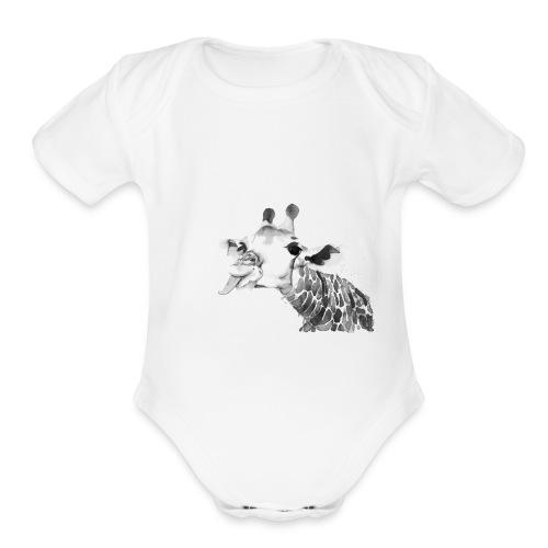 Follies of Gigi - Organic Short Sleeve Baby Bodysuit