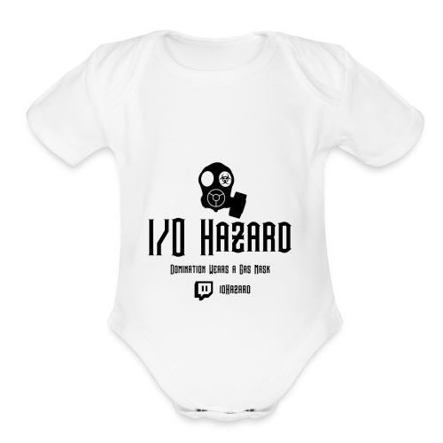 I/O Hazard Official - Organic Short Sleeve Baby Bodysuit