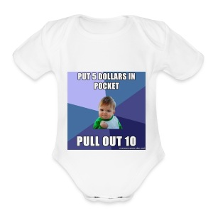 success 56a9fd1f3df78cf772abee09 - Short Sleeve Baby Bodysuit