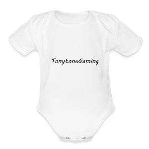 Tonytonegaming - Short Sleeve Baby Bodysuit