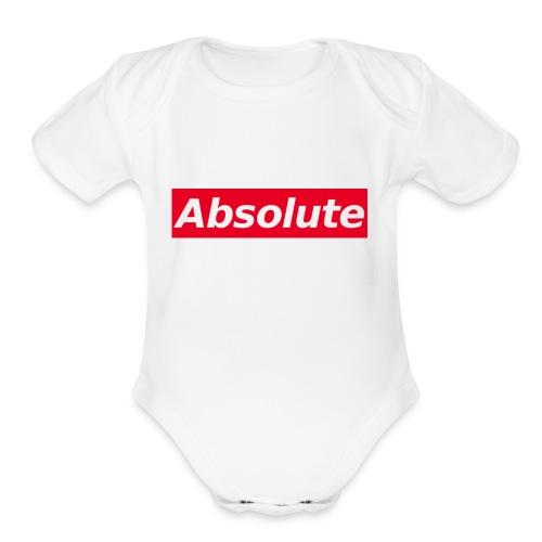 Absolute - Organic Short Sleeve Baby Bodysuit
