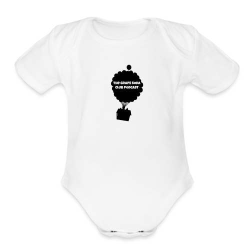 Grape Soda Podcast - Organic Short Sleeve Baby Bodysuit