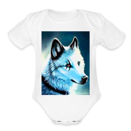F261969F EB55 4A54 9B04 1F605E9205A3 - Organic Short Sleeve Baby Bodysuit