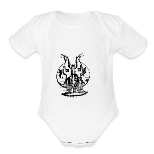 World Face - Organic Short Sleeve Baby Bodysuit