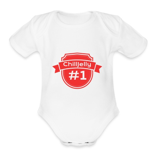 ChillJelly New merchandise! - Organic Short Sleeve Baby Bodysuit