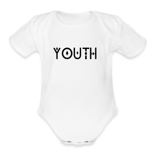 YOUTH - Short Sleeve Baby Bodysuit