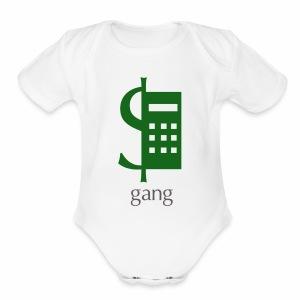 gang - Short Sleeve Baby Bodysuit