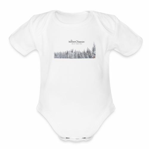 "InovativObsesion ""DESTINY"" apparel - Organic Short Sleeve Baby Bodysuit"