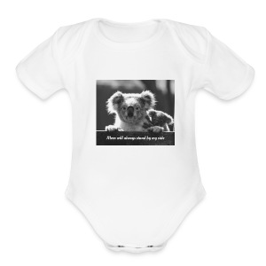 koala - Short Sleeve Baby Bodysuit