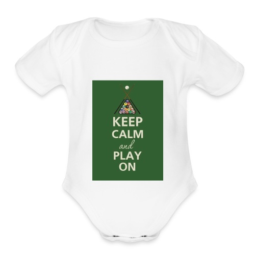 Gaming Merch - Organic Short Sleeve Baby Bodysuit